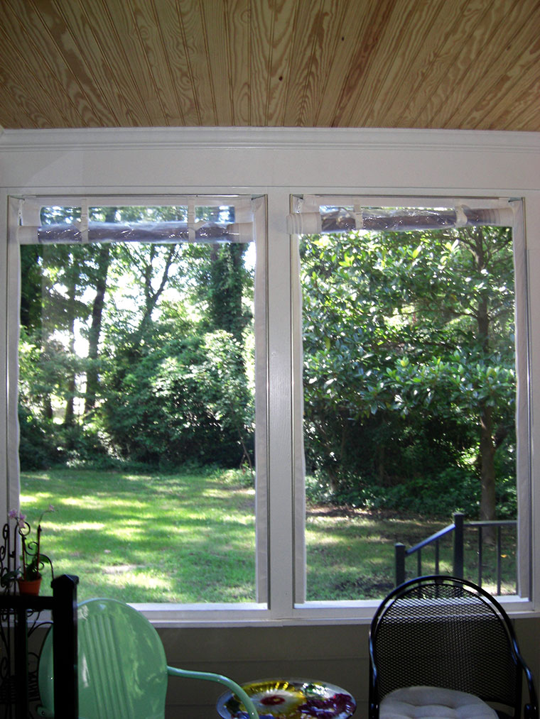 screen in porches